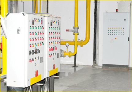 Boiler control panel - Steam Boilers, Dewaxing Autoclave, Thermic ...