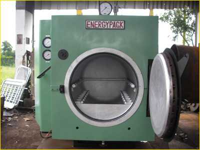 electrically heated dewaxing autoclave india
