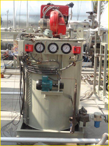 gas fired thermic fluid heater india