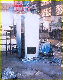oil fired thermic fluid heater india