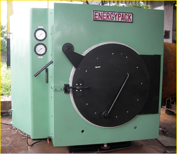 wood / coal fired dewaxing autoclave boiler