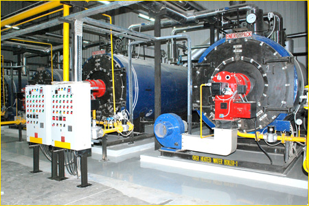 Hot water boiler - Steam Boilers, Dewaxing Autoclave, Thermic Fluid ...
