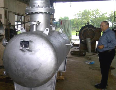 Steam generator with thermic fluid heating system - Steam Boilers ...